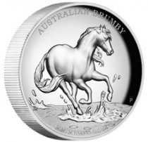 2020 Australia $2 2 oz Silver Brumby High Relief Proof Coin GEM Proof