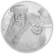 2020 Niue Harry Potter Classics - Dumbledore 1 oz Silver Proof $2 Coin GEM Proof OGP