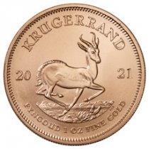 2021 South Africa 1 oz Gold Krugerrand Coin GEM BU