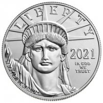 2021 1 oz Platinum American Eagle $100 GEM BU