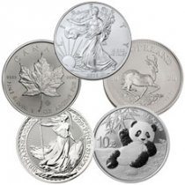 2020 Top 5 Silver Coin Starter Pack GEM BU