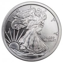 Golden State Mint Walking Liberty Design 5 oz Silver Round BU