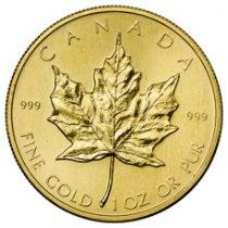 1979-2016 Canada 1 oz Gold Maple Leaf $50 GEM BU