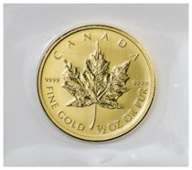 1979-2015 Canada 1/2 oz Gold Maple Leaf $20 GEM BU Original Mint Plastic