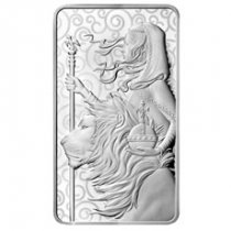 Royal Mint 10 oz Silver Una & The Lion Bar GEM BU
