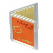 Valcambi Suisse CombiBars 20 g Gold Bar In Assay