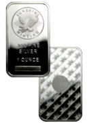 Sunshine Minting 1 oz. Silver Bar | Made in USA (Sealed in Mint Plastic)