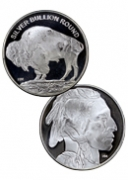 2016 Highland Mint 1 oz. Silver American Indian Buffalo Round