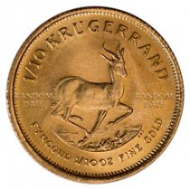 Random Date South Africa 1/10 oz Gold Krugerrand BU