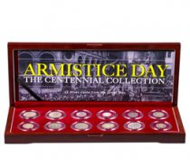 Armistice Day: Centennial of WWI 12 Silver Coin Collection