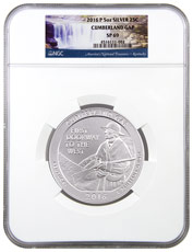 2016-P Cumberland Gap 5 oz. Silver America the Beautiful Specimen Coin NGC SP69