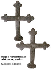 Ancient Byzantine Copper Cross c.AD 600-1100 (Premium Group)