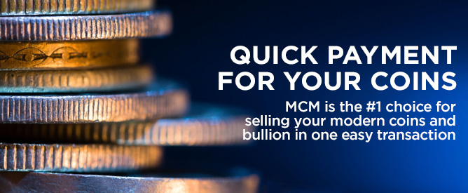 Sell Your Coins to MCM