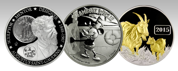 Modern Exclusive Coins