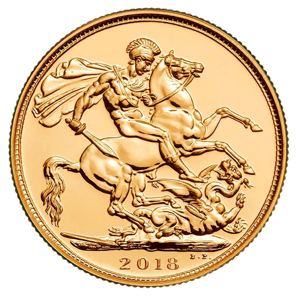 2018 Sovereign horse design.