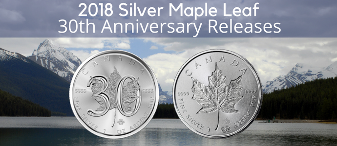 Silver Maple Leaf 30th anniversary