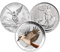 Top world silver coins