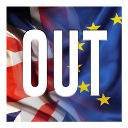 Bretix: the UK is OUT of the EU.