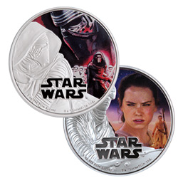 2016 Force Awakens Coins