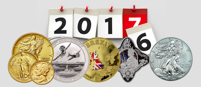 Coins of 2016: Anniversaries and Events