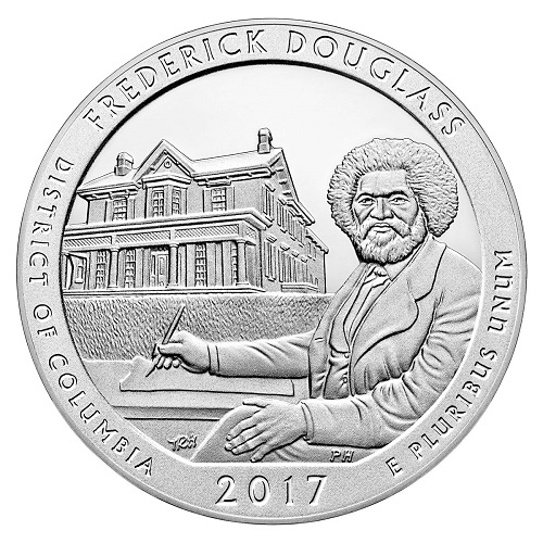 Fredrick Douglas America the Beautiful Quarter design