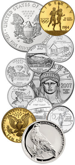 John Mercanti Coin Designs