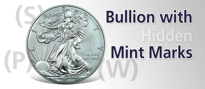 "2014-2017 Bullion Silver Eagles Can Now Carry ""Mint Marks!"""