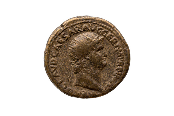 Bronze Ancient Coin Example