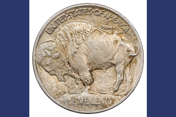 Type I Buffalo Nickel