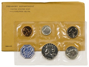 1984 Proof Set Free Shipping in Original Government Packaging