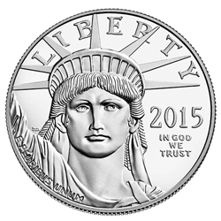 2015-W Proof American Platinum Eagle Obverse