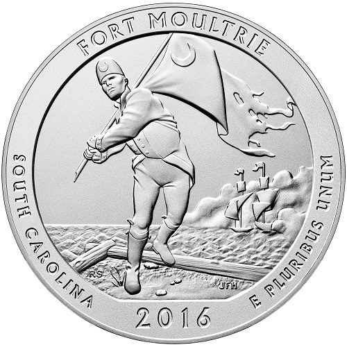 Fort Moultrie 5 oz. America the Beautiful Quarter