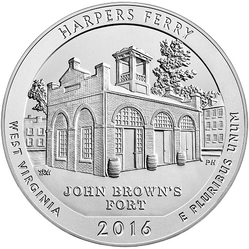 Harper's Ferry 5 oz. America the Beautiful Quarter