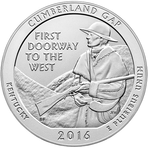 Cumberland Gap National Historic Park 5 oz. America the Beautiful Quarter