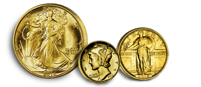 New Series of 2016 Gold Centennial Coins