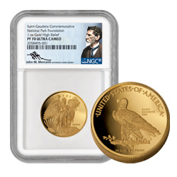 2016 Gold Winged Liberty Commemorative Double Eagle