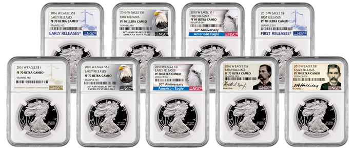 2016 Proof American Silver Eagles Coming Soon to MCM