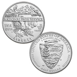 2016 National Park Service Commemorative Half Dollar
