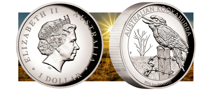 2016 High Relief Proof Silver Kookaburra Banner