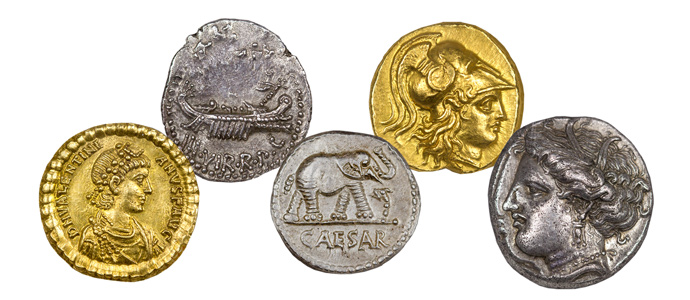 Ancient Coins Offer Great Potential