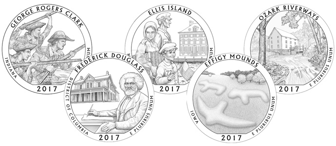 2017 America the Beautiful 5 oz. Silver Quarters: An Overview