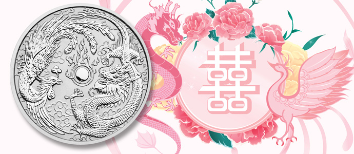 Dragon and Phoenix Featured on 1 oz. Silver Bullion Coins