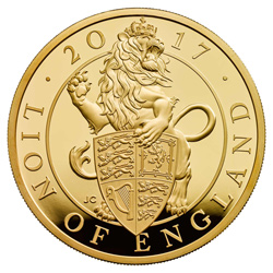 Queen's Beasts Coin Lion of England