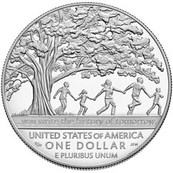 Boys Town Commemorative Silver Dollar Design