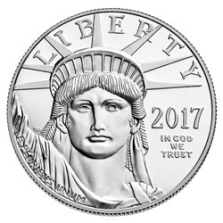 2017-W American Platinum Eagle Proof Obverse