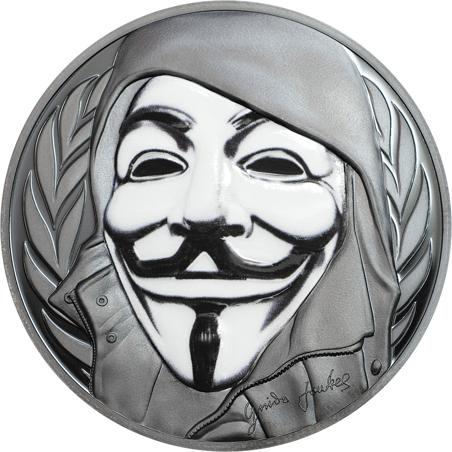 Introducing: The Guy Fawkes Coin