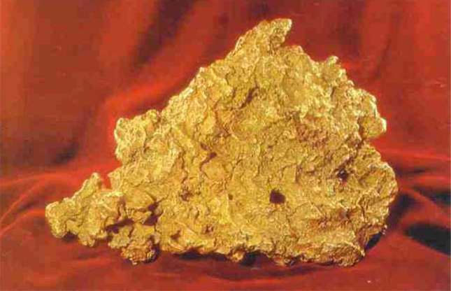 Great Triangle Gold Nugget