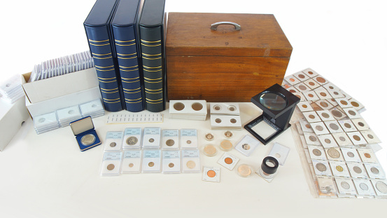 Coin Collection Including Graded Coins