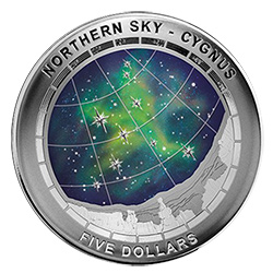 Cygnas Northern Sky Coin.