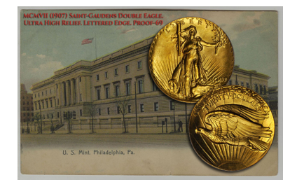 Saint-Gaudens Double Eagle Ultra High Relief